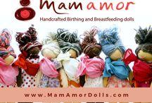 Mamamor dolls / demonstrations dolls for moms, kids and educators
