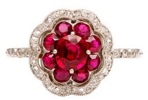Red for 9 / The red ruby as well as the color red vibrates to the number 9