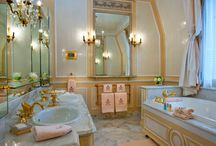 coco chanel's bath in ritz hotel