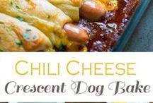 Casseroles & Chili Hot dogs