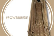 Bridal Wear / A selection of ensemble for every celebration at a big fat indian wedding.