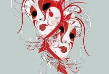 Maschere / Nascondersi... / by Alessandra Candoli