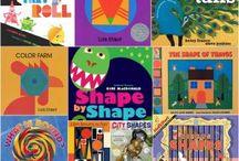 Children's books shapes