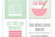 Baking / Baking quotations... Love them