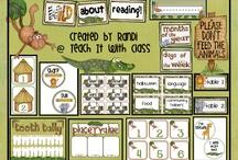 Teaching: ClassroomThemes / by Jennifer Zarrella