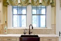 Window Treatments - Valance and Curtains / by Suzanne Kampschror