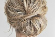 Hairstyle / Wedding hairstyle