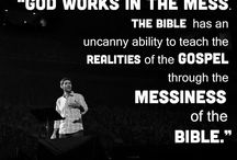 God works in the mess!