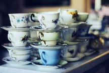 """""""Take Some More Tea"""" / My very British Grandmother passed on her love of everything tea to me, which I have passed on to my daughter <3  Quote is from the March Hare, Alice in Wonderland / by Bewitchy Love"""