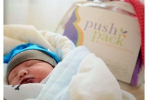 Push Pack babies! / The Push Pack prepacked hospital labor bag takes you from the moment just before you give birth until you leave the hospital with your new bundle of joy.  We love to see pictures of that time ...