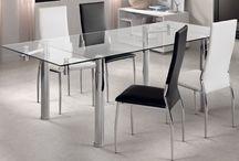 Mesas / Mesas de salón; mesas de comedor; mesas de centro; mesas de cocina; mesas extensibles; mesas elevables...