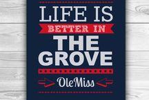 Ole Miss Rebels ❤️ / HOTTY TODDY! / by Elizabeth Barnes