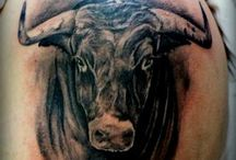 Stier tatoo