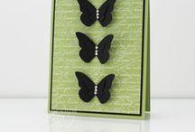 Card: Schmetterlinge | Butterfly
