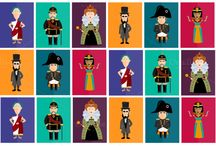 Historical illustrations / Cool historical illustrations