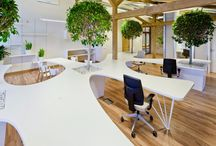 Flexible Workspaces / Creating a mindmap of resources to inspire creative and flexible workspaces.