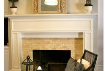 Fireplace Remodeling Ideas / by Mindy Biladeau