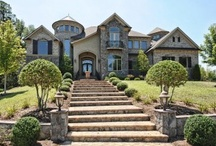 Luxury Living / Luxury homes abound in the Charlotte area and there are numerous luxury communities where a million dollars can buy you the home of your dreams. Follow us @luxurylivingclt / by Savvy + Co. Real Estate