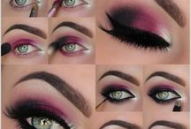 Makeup example step by step