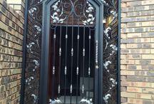 Wrought iron gates / amazing gates in Johannesburg
