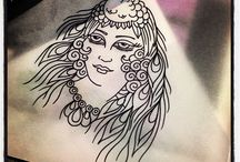 Helen Aldous - My Tattoo Artwork / Designs for tattoos or paintings I am working on...