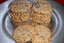 galletas y panes con semillas