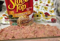 Meatloaf with stuffing