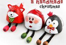 christmas tree decorations self made
