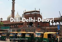 New Delhi / New Delhi has always been my port of destination when I travel to North India. Delhi is very rich in Mughal history, the past and present Delhi inter-mingles forming a unique heritage and culture within the city.