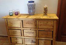 Wine crates