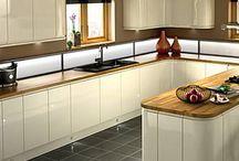 kitchen ideas white gloss / Kitchen ideas