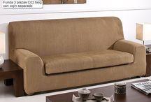 Fundas de sofa ajustables / Selección de fundas de sofa ajustables, ideales para decorar nuestros sofas con la máxima adaptabilidad.