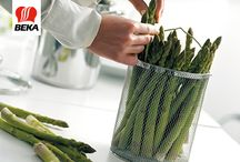 Spring treat on your plate / Celebrate spring with asparagus! This elegant vegetable has so much going for it: chock-full of nutrients, good for the figure and of course delicious!