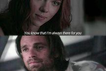 Bucky And Natasha