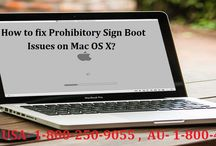 How to Fix Prohibitory Sign Boot Issues on Mac OS X?