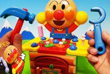 アンパンマンおもちゃアニメ❤トントン大工さんで遊ぼう! Toy Kids トイキッズ animation anpanman