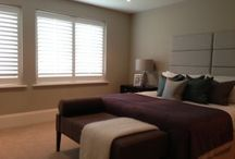 Bedroom Shutters / Installing bespoke shutters in your bedroom allows great control of the light coming into your room, especially if you're looking to rest in dark conditions. Pair with blinds or curtains for a total darkness or browse our gallery of completed shutter installations to see how wooden shutters would look in your room.