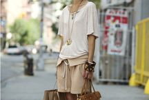 Beige in fashion