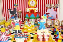 Circus Party  / by Laura H -- Hoosier Life, Hoosier Wife