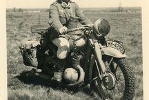 German Army Motorcyclist