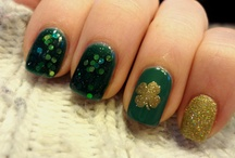 Nails - St. Patty's / by Erin DeCuir