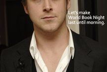 """Hey Girl / This began as Ryan Gosling to a female librarian-specific """"hey girl"""" posts, but has expanded to all of the great """"hey girl"""" pictures I have found. / by Amanda Bellis"""