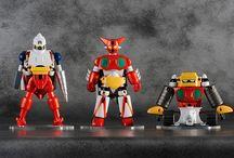 Getter Robo 3-Pack Dynamic Change Getter Robo