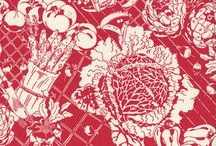 food fabric / by Helen Oney