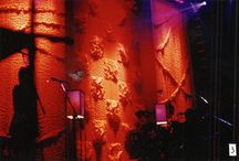 Stage Designs / Stage designs I have done for performers out of softgoods