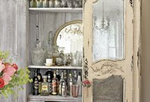 armoire / I love armoires, especially vintage french armoires!  Someday I'd like to make one, using inspiration from all the great ones out there.