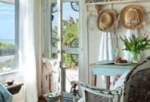 Beach Boho / Rustic Chic Decor / Rustic and Raw.  Great inspiration for Boho, Beach or Vintage Vibes.