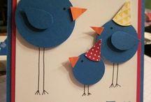 Cards: Birds