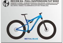 FAT BIKE / RECON X6 - FULL SUSPENSION FAT BIKE