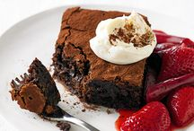 Indulgent treats / Food for special occasions